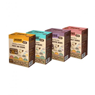 Pure Four Pack 2 (4 x 500gr = 8 kg)
