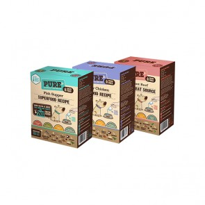 Pure Three Pack (3 x 500gr = 6 kg)